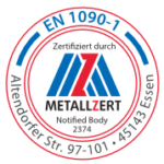 Zertifikat Metallzert EN 1090-1